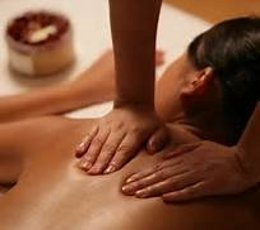 Application of Palm and Finger Pressure to the Thoracic Vertebrae and Shoulder Blade for Pain and Discomfort Relief