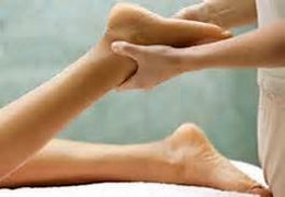 Massage to Sore Ankle and Foot